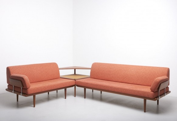 A 'Minerva' seating corner by Hvidt & Mølgaard, 1957