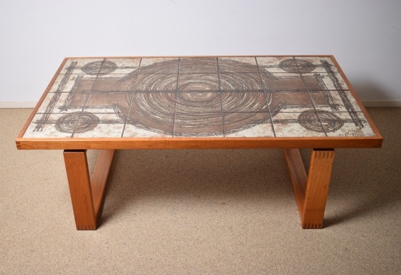Impressive coffee table by Ox -Art Denmark