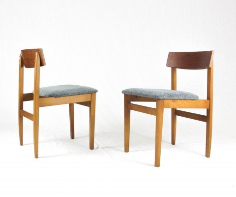 Set of 4 dining chairs, 1960s