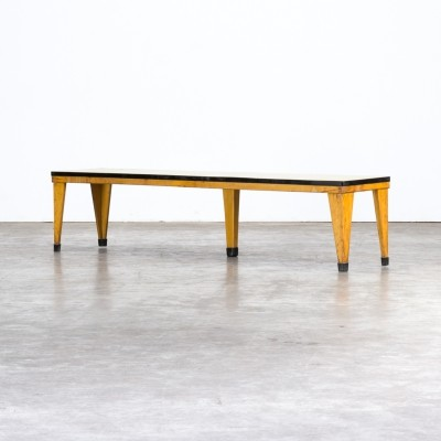 Industrial school bench by Zabo, 1950s