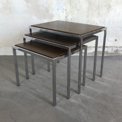 Pastoe Mimiset / Nesting Tables by Cees Braakman, 1960s