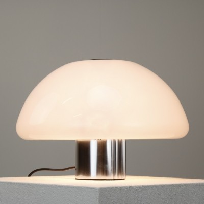 Mushroom desk lamp by Harvey Guzzini for iGuzzini, 1970s