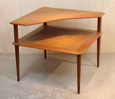 Teak 'Minerva' side table by Hvidt & Mølgaard for France & Son, 1950s