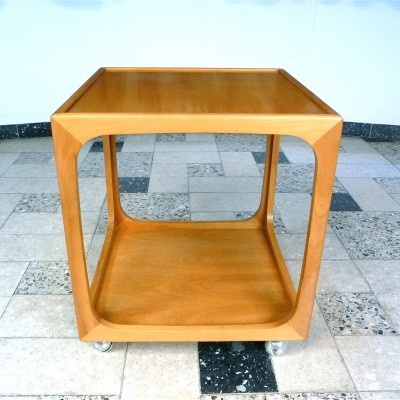 Cube-Shaped Serving Cart by Wilhelm Renz, Germany 1960s