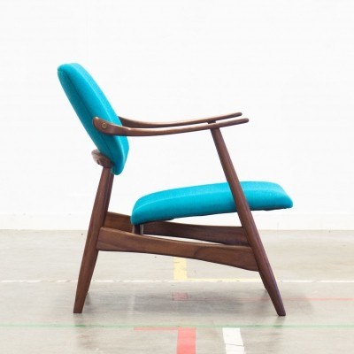 Lounge chair by Louis van Teeffelen for Wébé, 1960s