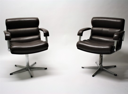 Pair of Vintage desk chairs, 1960s