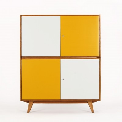 Pair of Stackable Sideboards by J. Jiroutek for Interier Praha, 1960s