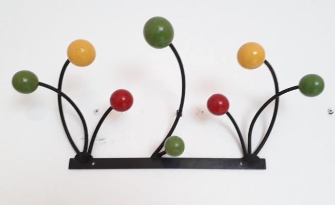 Roger Feraud coat rack, 1950s