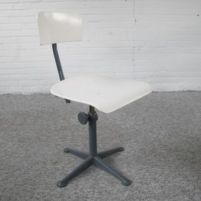 Ahrend de Cirkel industrial office chair, 1950s