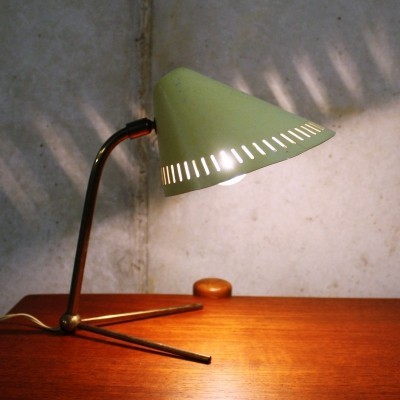 Mid century modern table lamp by Hans Bergstöm for Asea