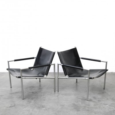 2 x SZ02 arm chair by Martin Visser for Spectrum, 1960s