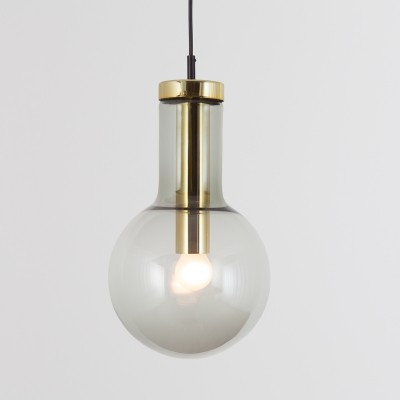 2 x Maxi Bulb Large hanging lamp by Raak Amsterdam, 1960s