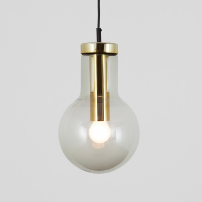 Maxi Bulb Medium hanging lamp by Raak Amsterdam, 1960s