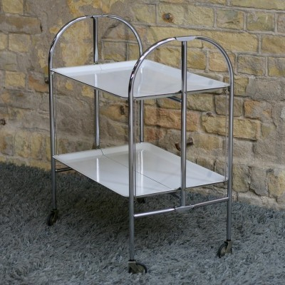 Bremshey & Co 'Dinett' Mid-century Serving Cart, Germany 1950s