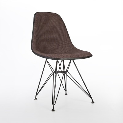 10 x DSW dining chair by Charles & Ray Eames & Alexander Girard for Herman Miller, 1950s
