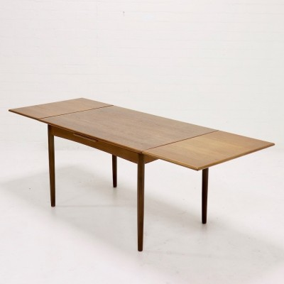 Mid-Century Extendable Teak Frastrup dining table 1960s