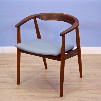 Danish dining chair / office chair in teak, 1960s
