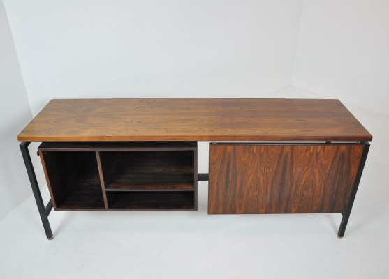 Freestanding Sideboard with Sliding Compartment by Herbert Hirche, 1950s