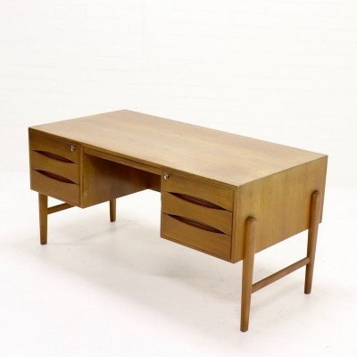 Vintage Exceptional Teak Desk by Christian Møller, 1960s