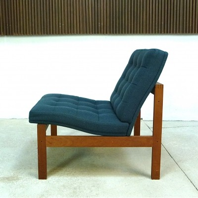 Modular Teak Easy Chair by Ole Gjerløv Knudsen & Torben Lind for France & Son