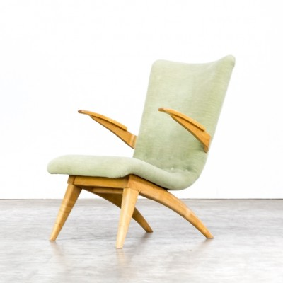 G. van Os lounge chair for Van Os Culemborg, 1950s