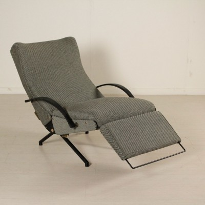 P40 arm chair by Osvaldo Borsani for Tecno, 1950s