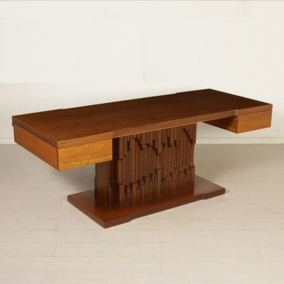 Norman writing desk by Luciano Frigerio, 1970s