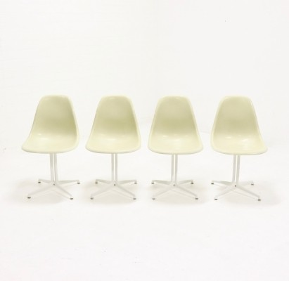 Set of 4 Eames La Fonda chairs by Herman Miller, 1970s
