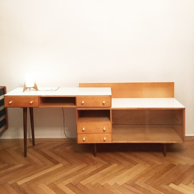 Writing desk by Mojmir Pozar for Spojene UP Zavody, 1960s
