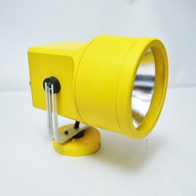Yellow Unispot wall lamp by Louis Poulsen