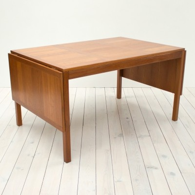 Danish Teak Extending Dining Table by Vejle Stole