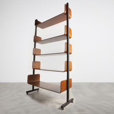 Wall unit by Franco Campo for Home Torino, 1950s