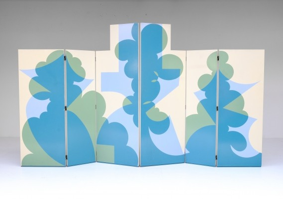 Pair of Room Dividers by Giacomo Balla for Gavina, 1970s
