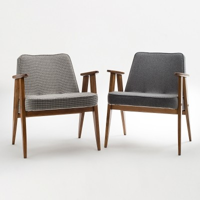 Pair of type 366 armchairs by Jozef Marian Chierowski