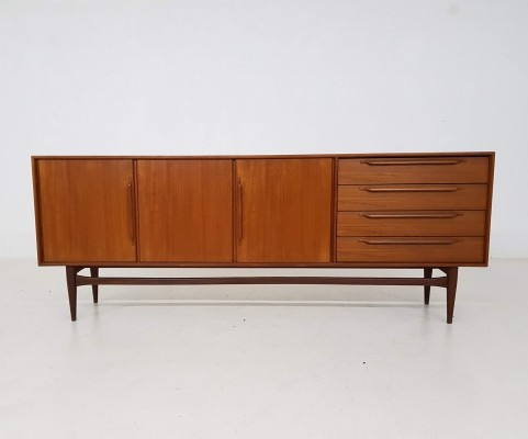 Model 214 sideboard by Heinrich Riestenpatt for RT Moebel, 1960s