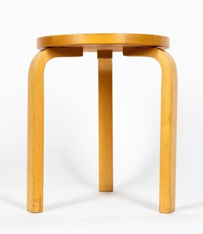 Stool model 60 designed by Alvar Aalto in 1950s