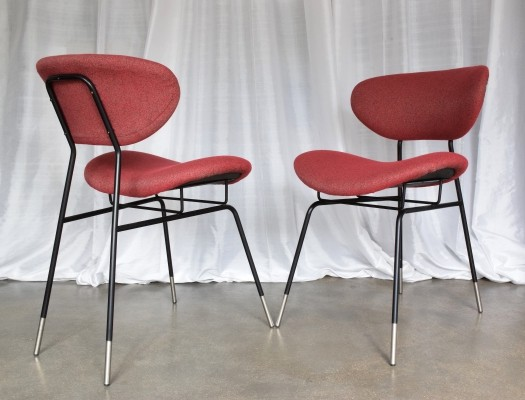 Pair of Italian Mid-Century Chairs by Gastone Renaldi for RIMA, 1950's