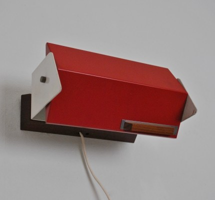 Hiemstra Evolux wall lamp, 1960s