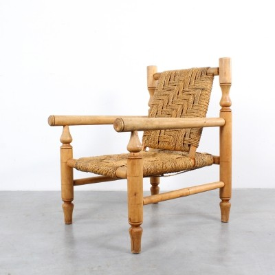 Rope arm chair, 1970s