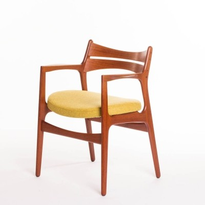 Vintage Danish desk chair or dining chair designed by Erik Buch