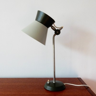 Rare Hala desk lamp (marked), The Netherlands 1960's