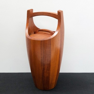 Teak Congo Ice Bucket by Jens Quistgaard for Dansk Designs