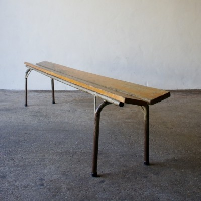 Industrial German Bench