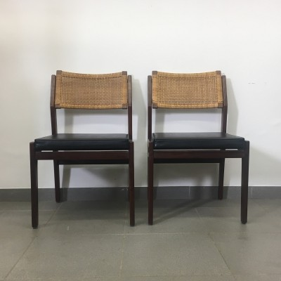 Set of 2 topform chairs, 1960's