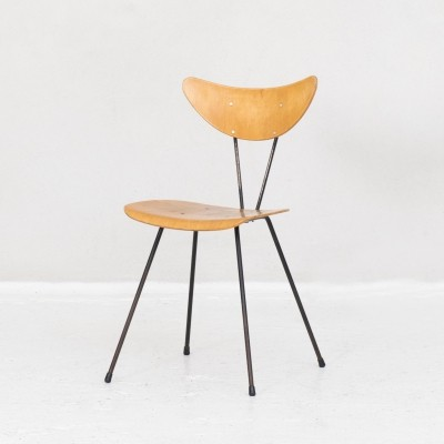 Side chair by Kembo, Dutch design 1950