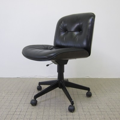Vintage design office chair by Ico Parisi for MIM Roma, 1980s