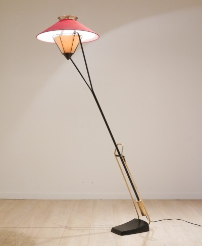 Carl Auböck floor lamp, 1950s