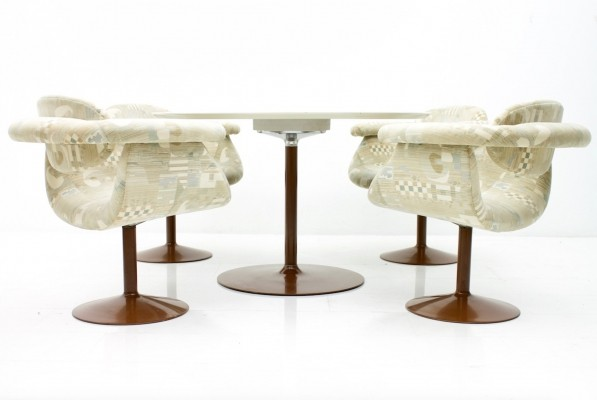 Rare Dining Room Set by Eero Aarnio for Asko, Finland, 1970s
