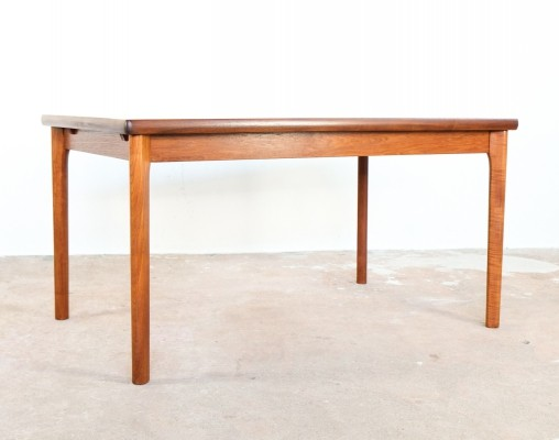 Danish extendable table in teak by Henning Kjaernulf for Vejle, 1960s