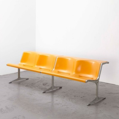 Friso Kramer Double Bench by Wilkhahn, 1967